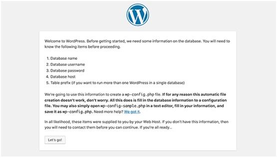 wordpress installation instructions
